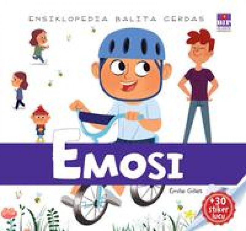Cover Buku Ensiklopedia Balita Cerdas : Emosi