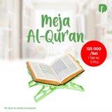Meja Al Quran Set 5 Pcs: Hadir Buat Anda Membaca Al-Quran Dengan Nyaman