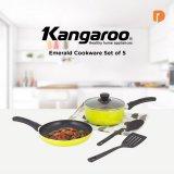 Kangaroo Emerald Cookware Set 5: Panci Praktis Buat Masak