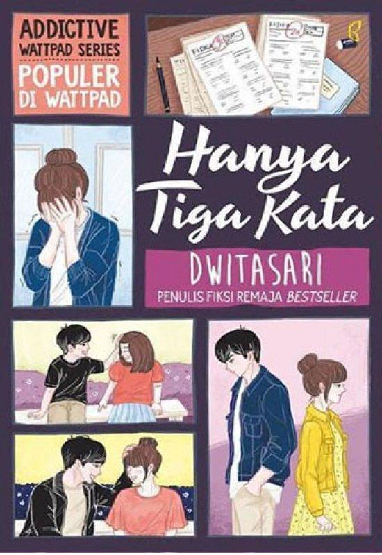 Cover Buku Hanya Tiga Kata (Edisi Tanda Tangan Digital)