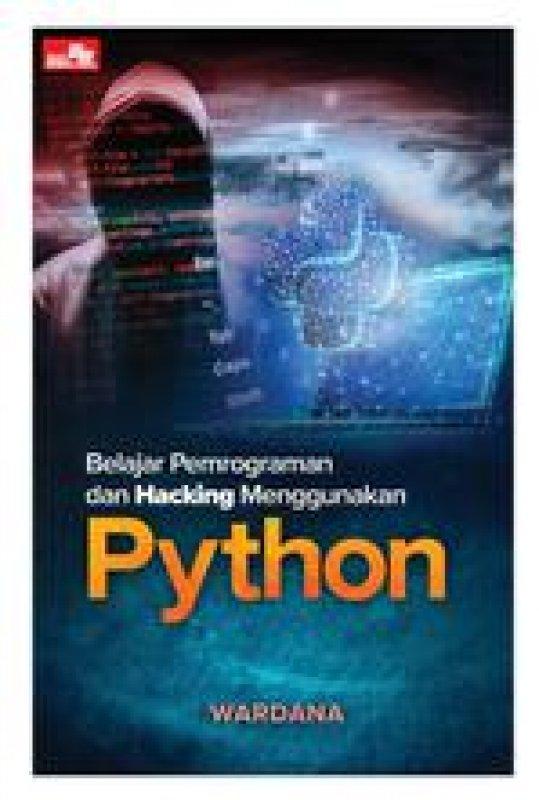 Cover Buku Belajar Pemrograman Dan Hacking Menggunakan Python