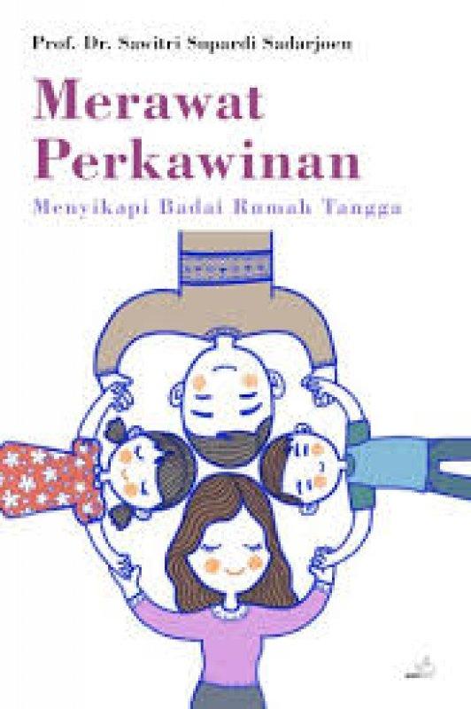 Cover Buku Merawat Perkawinan Menyikapi Badai Rumah Tangga