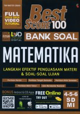 Best Score 100 Bank Soal MATEMATIKA SD/MI Kelas 4,5,6