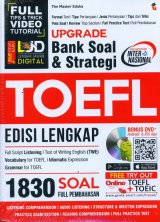 Detail Buku Upgrade Bank Soal & Strategi Toefl Edisi Lengkap