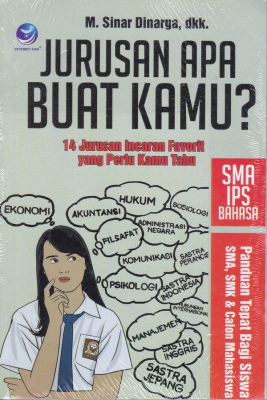 Cover Buku Jurusan Apa Buat Kamu? Sma Ips Bahasa, 14 Jurusan Incaran Fa