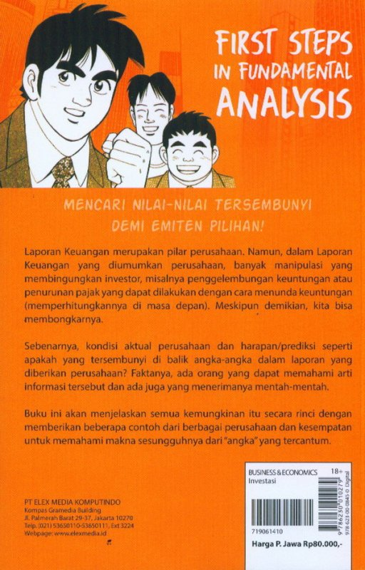 Cover Belakang Buku Investment Guide Series: First Steps In Fundamental Analysis