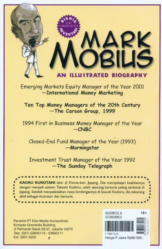 Cover Belakang Buku An Illustrated Biography: Mark Mobius