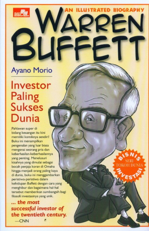 Cover Buku An Illustrated Biography: Warren Buffett