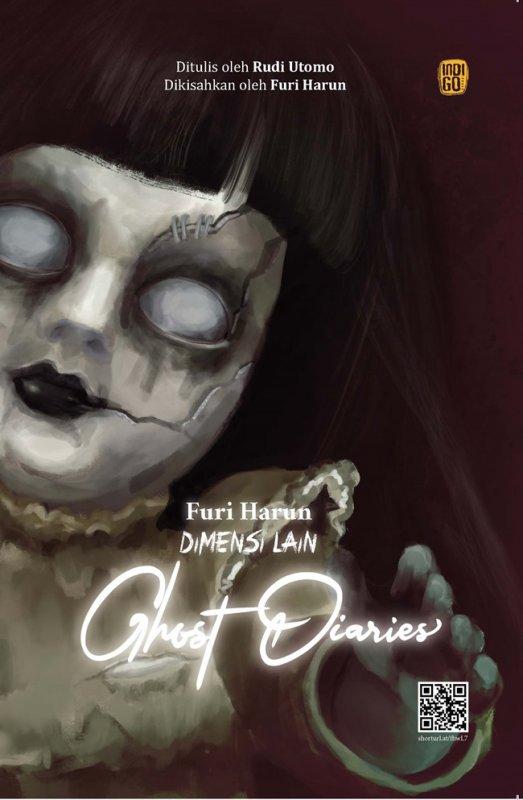 Cover Buku Dimensi Lain : Ghost Diaries