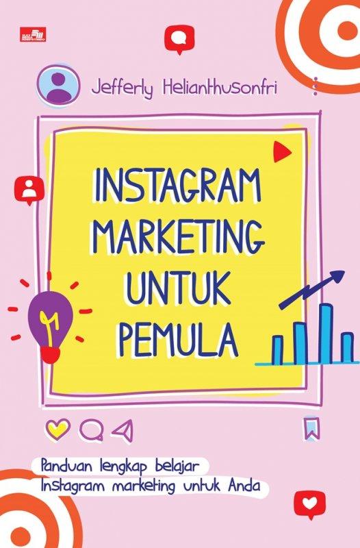 Cover Buku Instagram Marketing untuk Pemula
