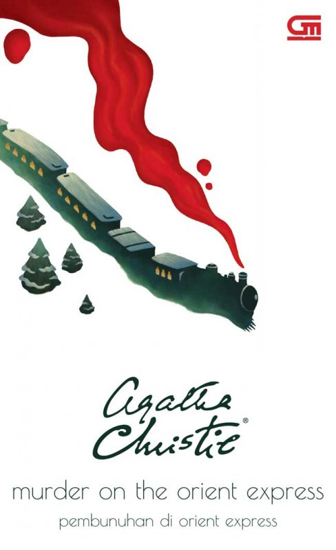 Cover Buku Murder On The Orient Express ( Pembunuhan Di Orient Express )