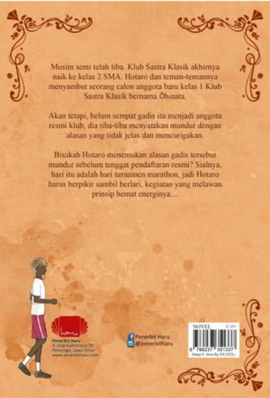 Cover Belakang Buku Hyouka 5