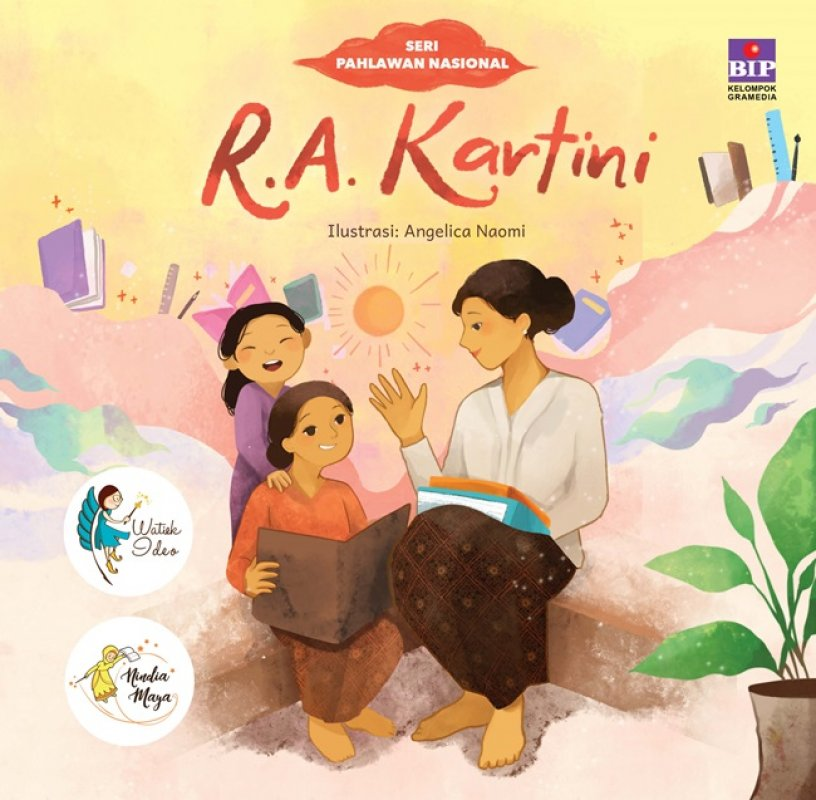 Cover Buku Seri Pahlawan Nasional : R.A. Kartini