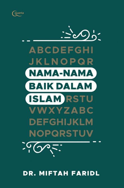 Cover Buku Nama-Nama Baik dalam Islam