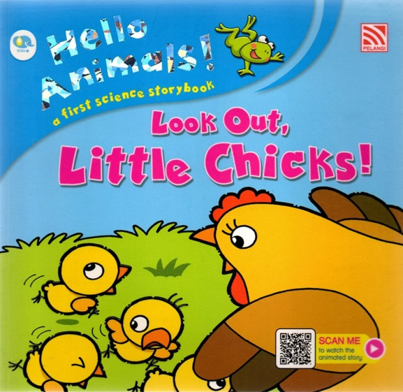 Cover Buku Hello Animals: Look Out Little Chicks (Ar)