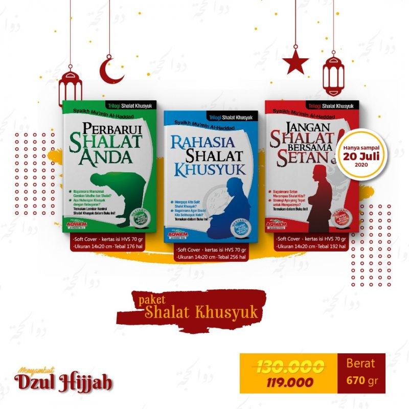 Cover Buku Paket Shalat Khusyuk