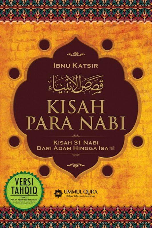 Cover Buku Kisah Para Nabi (kisah 31 nabi)