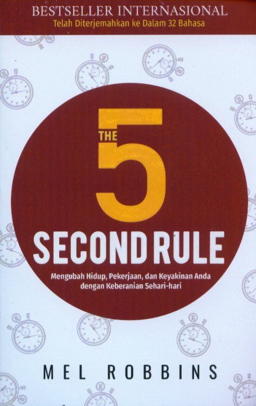 Cover Buku The 5 Second Rule