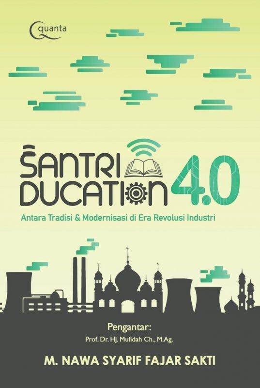 Cover Buku Santriducation 4.0