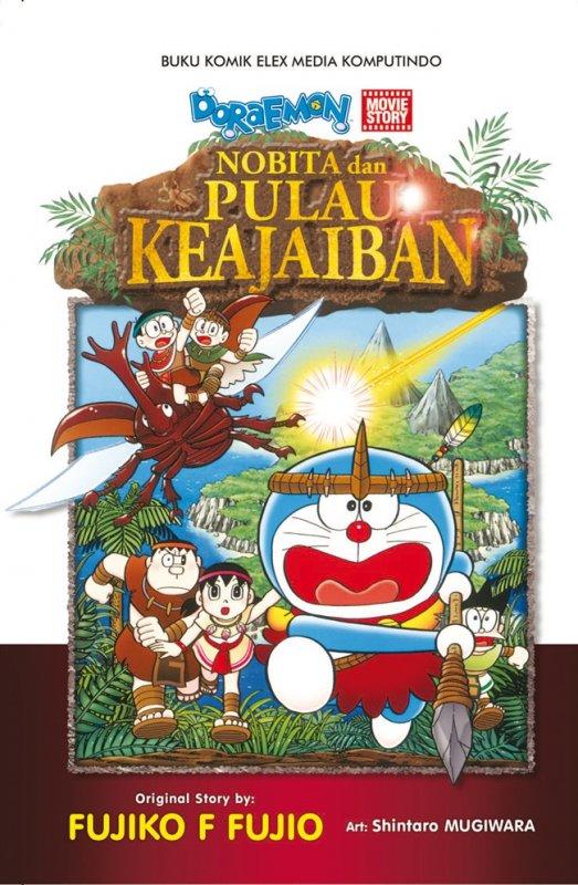 Cover Buku Doraemon Movie Story: Nobita Dan Pulau Keajaiban