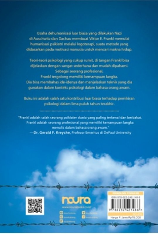 Cover Belakang Buku The Will to Meaning