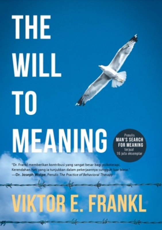 Cover Buku The Will to Meaning