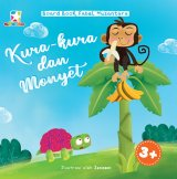 Opredo Board Book Fabel Nusantara: Kura-Kura Dan Monyet