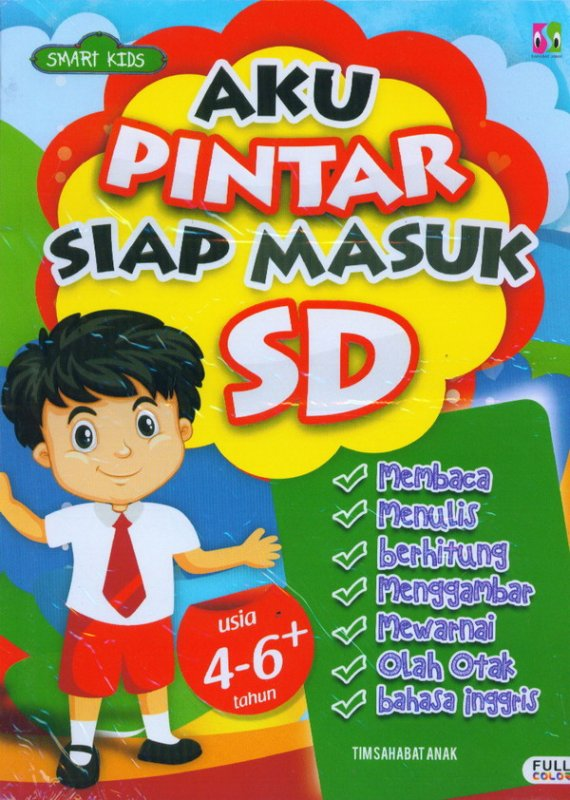 Cover Buku Aku Pintar Siap Masuk SD