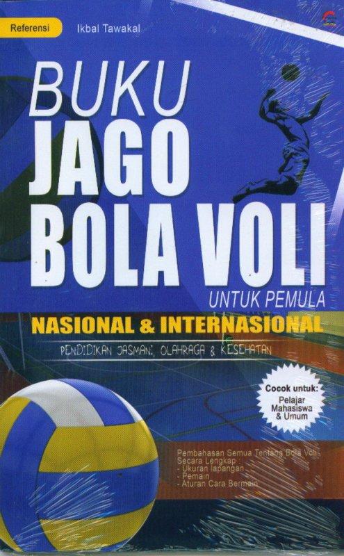 Cover Buku Buku Jago Bola Voli Untuk Pemula