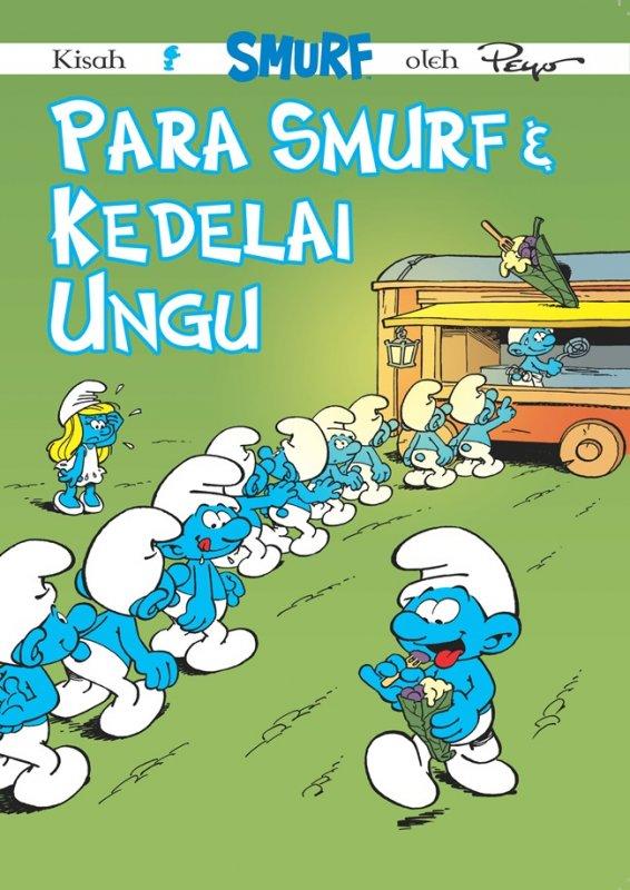 Cover Buku Smurf - Para Smurf dan Kedelai Ungu