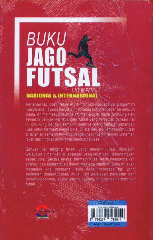 Cover Belakang Buku Buku Jago Futsal Untuk Pemula