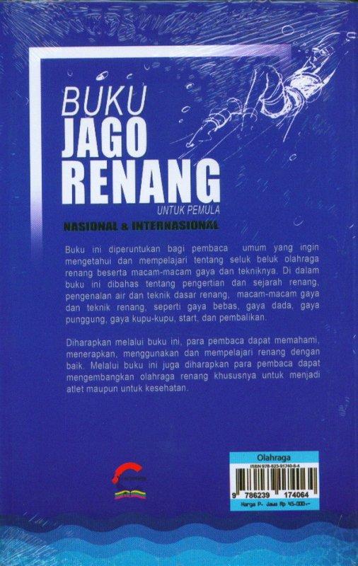 Cover Belakang Buku Buku Jago Renang Untuk Pemula
