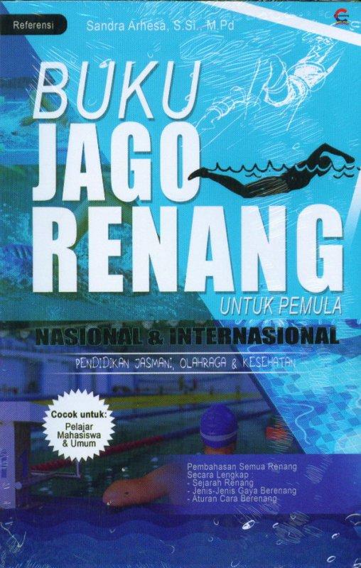Cover Buku Buku Jago Renang Untuk Pemula