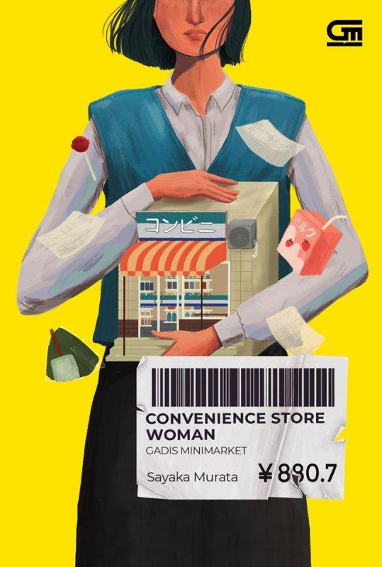 Cover Buku Gadis Minimarket (Convenience Store Woman)