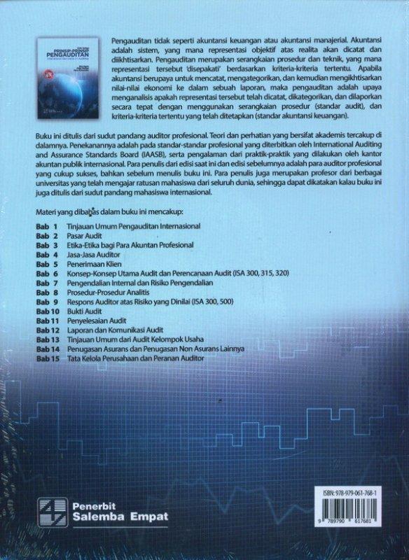 Cover Belakang Buku Prinsip-Prinsip Pengauditan (Edisi Ketiga)