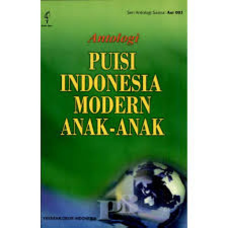 Cover Buku Antologi Puisi Indonesia Modern Anak-anak