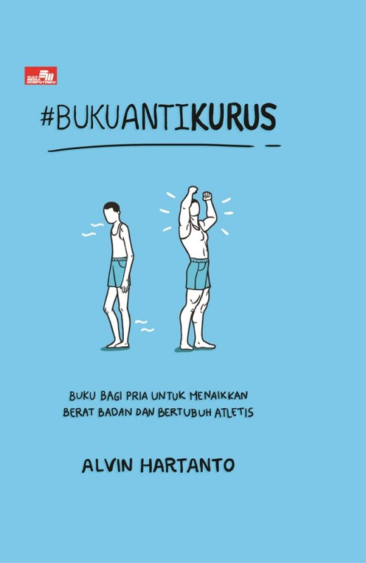 Cover Buku #BukuAntiKurus