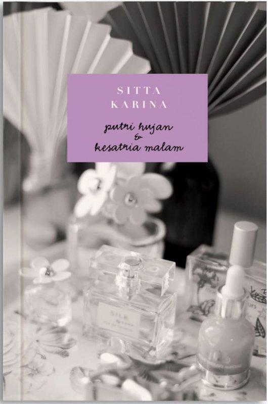 Cover Buku Putri Hujan Dan Kesatria Malam (Reguler)