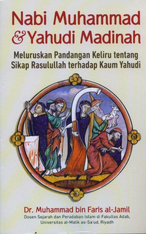Cover Buku Nabi Muhammad & Yahudi Madinah