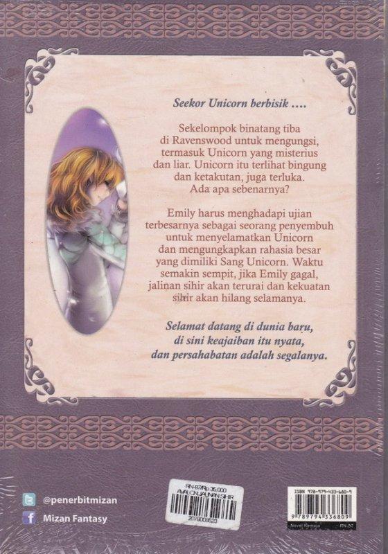 Cover Belakang Buku Avalon 4 : jalinan sihir - Rahasia Unicorn