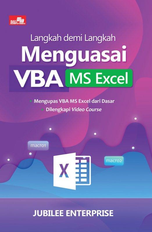 Cover Buku Langkah Demi Langkah Menguasai Vba Ms Excel