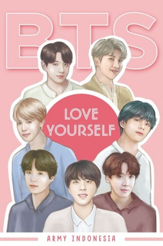 Cover Buku BTS: LOVE YOURSELF