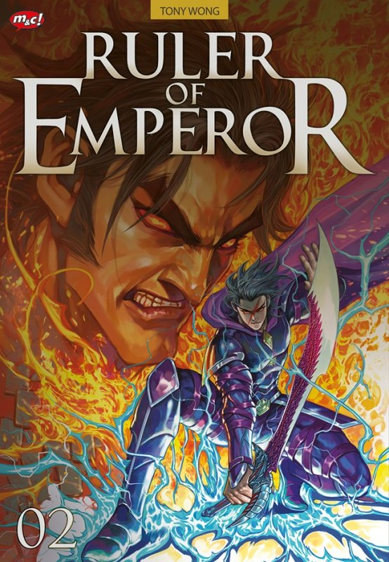 Cover Buku Ruler Of Emperor 02