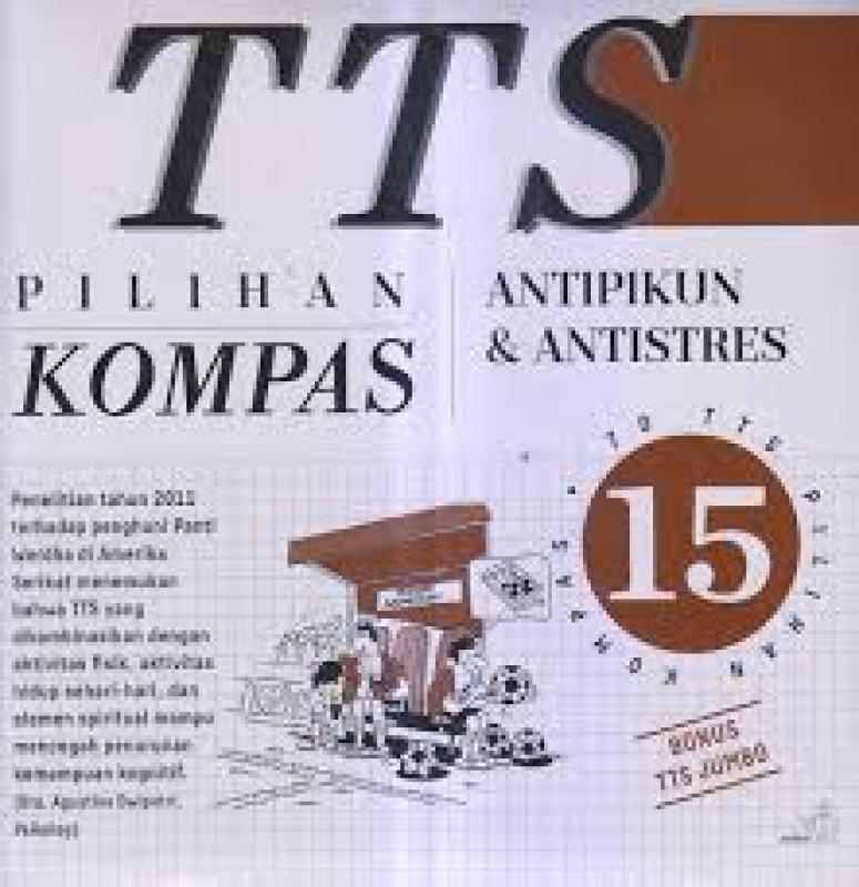 Cover Buku TTS Pilihan Kompas Jilid 15 + sisipan tts jumbo