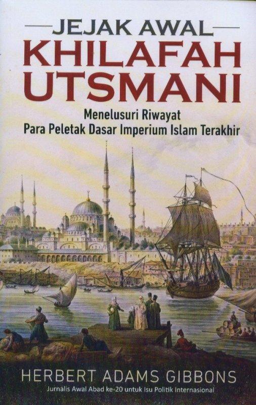 Cover Buku Jejak Awal Khilafah Utsmani
