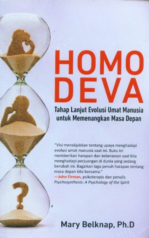 Cover Buku Homo Deva