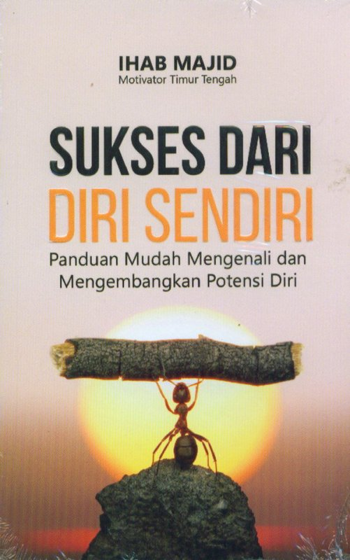 Cover Buku Sukses Dari Diri Sendiri