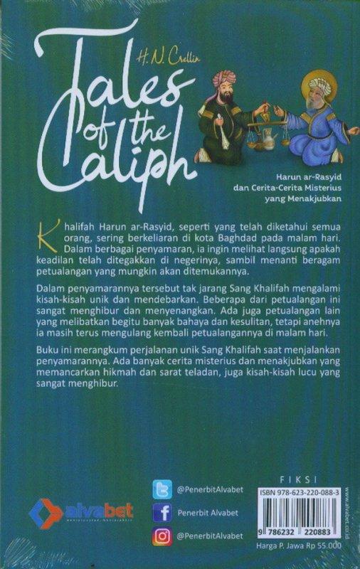 Cover Belakang Buku Tales Of The Caliph