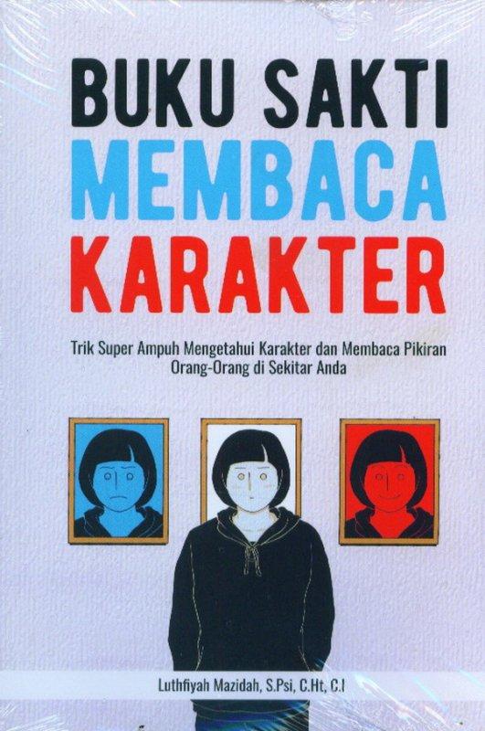 Cover Buku Buku Sakti Membaca Karakter