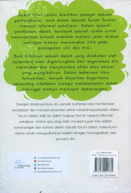 Cover Belakang Buku Lancar Berdebat